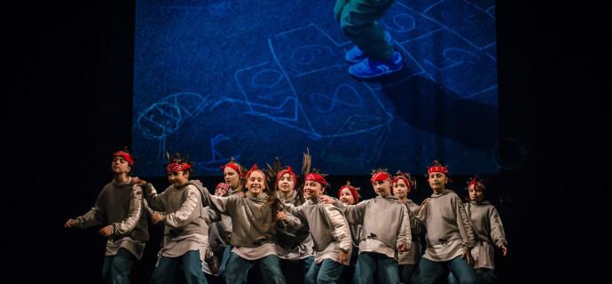 Každoroční Vánoční Show v divadle pro rodiče a přátele